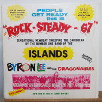 LP-0005   ROCK-STEADY-67 / BYLON LEE AND  THE DRAGONAIRES          #ROCKSTEADY/中古レコードLP
