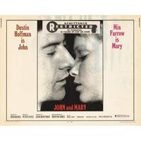 OP-019 ジョンとメリー(John and Mary)   #映画ポスター/米国版オリジナル/1969/1040mm×685mm