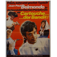 "RO-001「大盗賊」""GATOUCHE"" 映画ポスター/ドイツ版リバイバルオリジナル/1961年制作1970年代リバイバル"