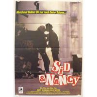 OP-034 「シド・アンド・ナンシー(Sid&Nancy)」映画ポスター/ドイツ版オリジナル/1986/590mm×840mm