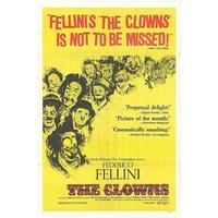 OP-015 「フェリーニの道化師(THE CLOWNS)」#映画ポスター/米国版オリジナル/1970/1040mm×685mm