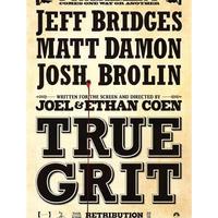 """OP-088 『トゥルー・グリッド』""""TRUE GRID""""/映画ポスター/アメリカ版オリジナル/2010"""