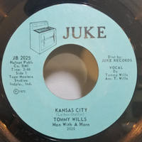 SP-0006  K.C.DRIVE / KANSAS CITY          TOMMY WILLS      #RARE GROOVE/中古レコードSP