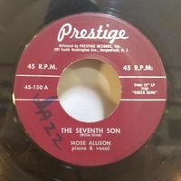 SP-0002    THE SEVENTH SON/  MOSE ALLISON    #JAZZ/中古レコードSP