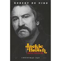 OP-011 ジャッキー・ブラウン(Jackie Brown)/ Robert De Niro advanced poster#映画ポスター/米国版オリジナル/1997