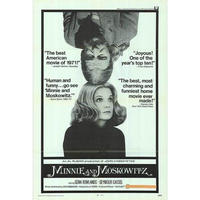 OP-007  ミニーとモスコウィッツ(MINNIE AND MOSKOWITZ)#映画ポスター/米国版オリジナル/1971/1040mm×685mm