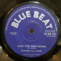 SP-0013  /GUN THE MAN DOWN/EVERYBODY YEAH YEAH /BUSTER ALL STARS/JAMAICA  GREATEST #SKA中古レコードSP