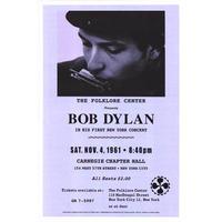 RP-009 BOB DYLAN 1st Concert #MUSIC ポスター/Reprint 458mm×310mm
