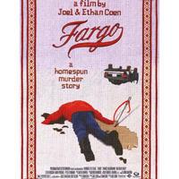 """RP-014 『ファーゴ』""""FARGO""""/映画ポスター/アメリカ版リプリント/1996"""
