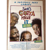 OP-041 「シーズ・ガッタ・ハヴ・イット(She's Gotta Have It)」映画ポスター/ドイツ版オリジナル/1986/590mm×840mm