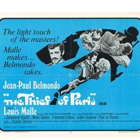 """OP-064『パリの大泥棒』""""The Thief of Paris""""/映画ポスター/アメリカ版オリジナル/1966"""