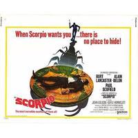 OP-001 「スコルピオ/SCORPIO」#映画ポスター/米国版オリジナル/1973/560mm×713mm