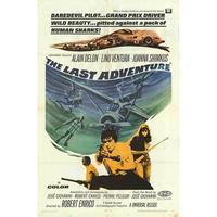 OP-022  「 冒険者たち(Last Adventure)」#映画ポスター/米国版オリジナル/1967/1040mm×685mm
