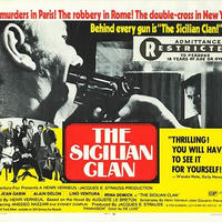 OP-003 「シシリアン/THE SICILIAN CLAN」#映画ポスター/米国版オリジナル/1969/560mm×713mm