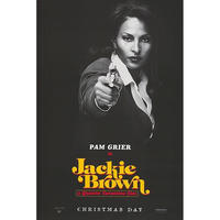 OP-010  ジャッキー・ブラウン(Jackie Brown)/ Pam Grier advanced poster#映画ポスター/米国版オリジナル/1997