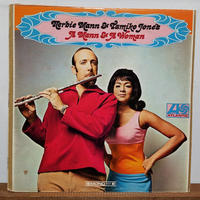 LP-0021  A MANN AND WOMAN /HERBIE MANN AND TAMIKO JONES   /#SOUL JAZZ/ #中古レコードLP