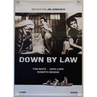 OP-023 「ダウン・バイ・ロー(Down by law)」#映画ポスター/ドイツ版リバイバルオリジナル/1986年製作リバイバル公開2014年/590×840mm