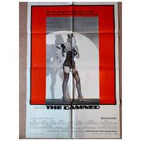 OP-037 「地獄に堕ちた勇者ども/THE DAMNED」#映画ポスター/米国版オリジナル/1969