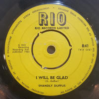 SP-0009    I WILL BE GLAD c/w HEARISO/ Shandly Duffus    #SKA/中古レコードSP