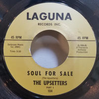 SP-0004  THE UPSETTERS / SOUL FOR SALE      #SOUL JAZZ/中古レコードSP