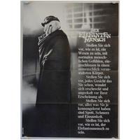 OP-035 「エレファントマン(THE ELEFANT  MAN)」映画ポスター/ドイツ版オリジナル/1980/590mm×840mm