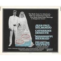 OP-016「暗くなるまでこの恋を(MISSIPPI MERMAID)」#映画ポスター/米国版オリジナル/1969/560mm×713mm