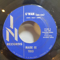 SP-0003  G' WAN(GO ON),/GOOD GREASE       MARK THIRD TRIO         #SOUL JAZZ/中古レコードSP