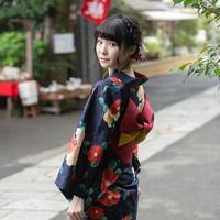 川音希生写真セット(浴衣編)