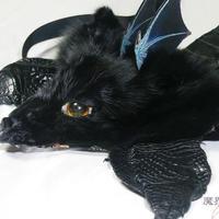 けもドラヘッドドレス(黒)
