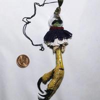 猛禽脚ネックレス
