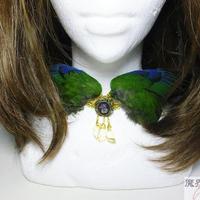 翼チョーカー(緑)