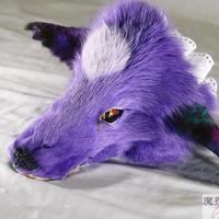 けものブレスレット(濃紫)