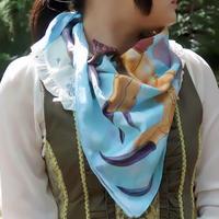 人外スカーフ(とりがら)