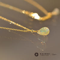 opal necklace (SNN-op-Lim-01/02 K18YG)