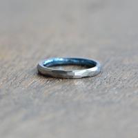 金属アレルギーの方 でも身につけられる結婚指輪ジルコニウム(ak-008-Zr)*店頭のみ販売*