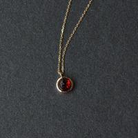 Garnet Necklace (SNN-040GA)