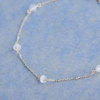 Rose Quartz Bracelet (SNB-010B)K10YG