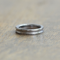 金属アレルギーの方 でも身につけられる結婚指輪タンタル(ak-006-Ta)*店頭のみ販売*