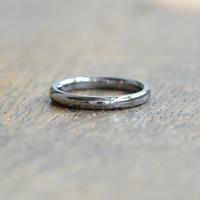 金属アレルギーの方 でも身につけられる結婚指輪タンタル(ak-007-Ta)*店頭のみ販売*