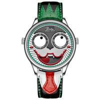 ジョーカー腕時計メンズ ファッション 人格 合金 クォーツ 各種カラー