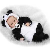 42センチ柔らかいシリコーンリボーン女の赤ちゃん人形かわいい幼児玩具磁気口
