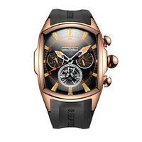 REEF TIGER 腕時計 トゥールビヨン ラバーストラップ  機械式腕時計  RGA3069-PBBO