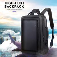 ブランド最高のプロ男性ビジネスバックパックトラベルバッグ防水スリムノートパソコンのバックパックスクールバッグオフィス男性バックパックバッグ