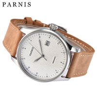 Parnis(パーニス )メンズ 機械式腕時計 防水