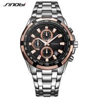 Sinobi  メンズ クロノグラフ クォーツ腕時計 防水
