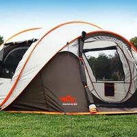 大型ポップアップテント  3〜4人用  超軽量  アウトドア  キャンプ  野営