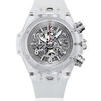 KIMSDUN スケルトン腕時計 メンズ クォーツムーブメント ホワイト  K-719-5