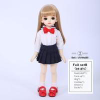 球体関節人形 BJD カスタムドール  1/6人形フルセットセーラー かわいい