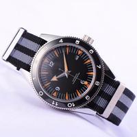 オマージュウォッチ 機械式腕時計/NATOストラップ 007スペクターstyle 自動巻 ノーロゴ