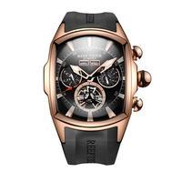 REEF TIGER 腕時計 トゥールビヨン ラバーストラップ  機械式腕時計  RGA3069-PBB